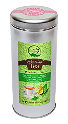 Detox Tea-Cleansing-Slimming-Fat Burner-Appetite Suppressant & Weight Loss-14 Day Detox-By Perfect Leaf Tea