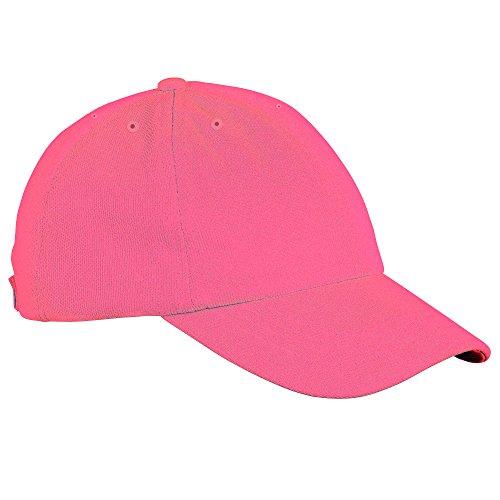 Gorra colores deportiva tecnología transpiracíon con Eléctrico cool Visera de Just Rosa 30 wzFtn