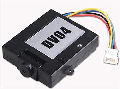 Walkera QR X350 FPV 5.8Ghz DV04 Camera with Micro SD Recorder FPV Video Transmitter Black - FAST FROM Orlando, Florida USA! (Walkera Airplane)