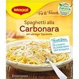 Maggi Fix Spaghetti Alla Carbonara 34g
