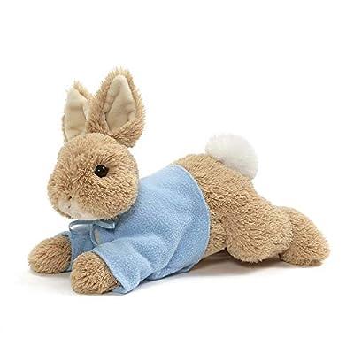 "GUND Peter Rabbit Laying Down Plush Stuffed Bunny, 12"""