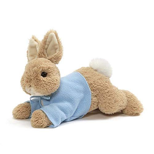 GUND Peter Rabbit Laying Down Plush Stuffed Bunny, 12