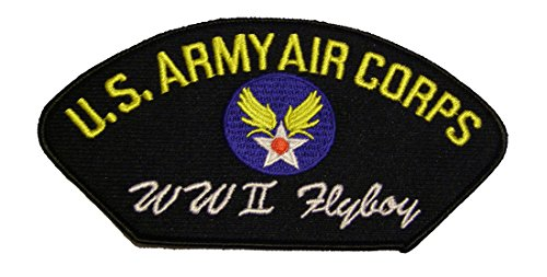 U.S. ARMY AIR CORPS WWII FLYBOY Veteran Patch - Veteran Owned Business