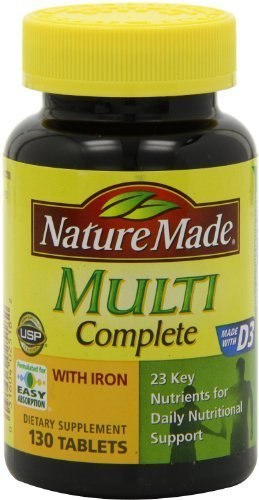 natures made iron tablets - 4