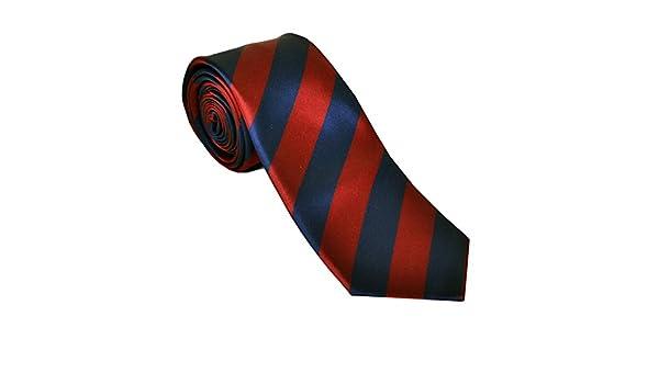 Barcelona F.C. - Corbata - para hombre rojo Scarlet/Navy Talla ...