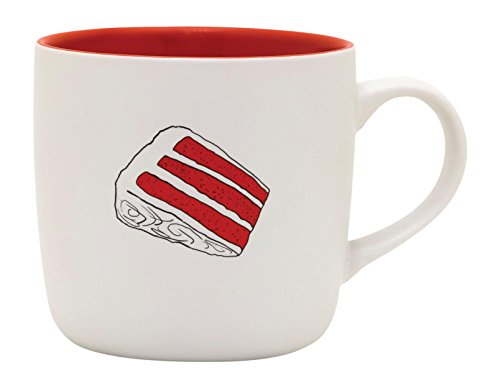 RECIPease Cake Mug (Red Velvet) (Large Red Velvet Cake Recipe)