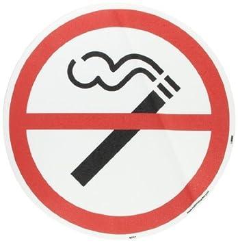 NMC wfs7 Walk auf Boden Schild mit No Smoking Symbol, 43,2 cm ...