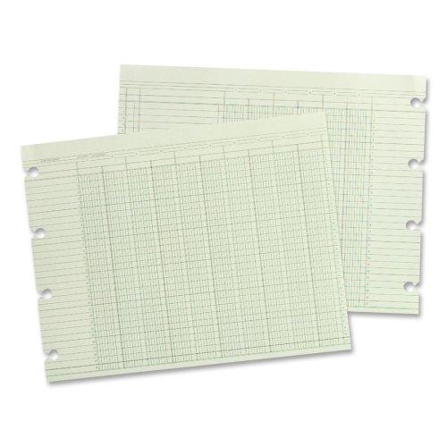 16 Dbl Box - Wholesale CASE of 10 - Acco/Wilson Jones Regular Ledger Shts-Ledger Sheet, 16 Col., Dbl, 9-1/4