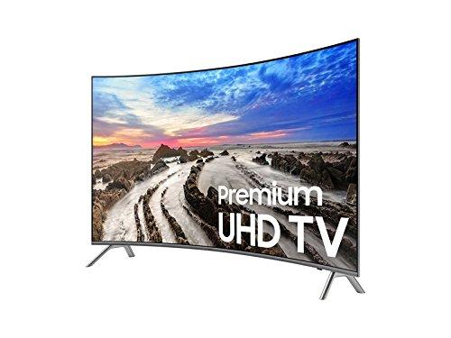 SAMSUNG UN55MU850DFXZA LED Curved 4K 240 MR Full HD Smart TV, 55 (Certified Refurbished)
