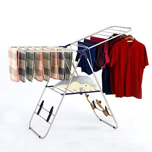 SUNPACE Towel Drying Rack for Clothes SUN005 Sweater Baby Clothes Rack Dryer Hanging Laundry Folding (Outside Clothing Drying Racks)
