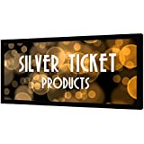 """STR-235138-S Silver Ticket 4K Ultra HD Ready Cinema Format (6 Piece Fixed Frame) Projector Screen (2.35:1 138"""", Silver Material)"""