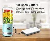 Sboly Mini USB Blender Rechargeable, Portable