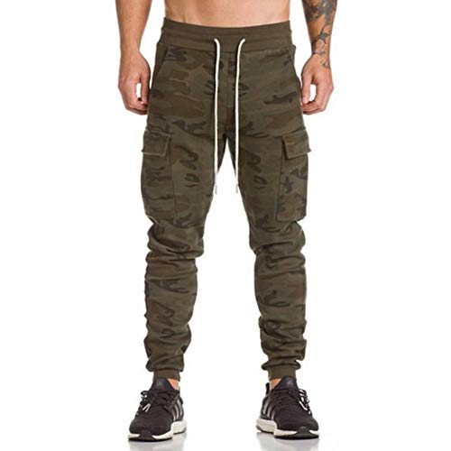 SOLDER Camo Pants Stretch Sweat Camo Joggers Trousers Camouflage Jogger Track Sweat Pockets BM311