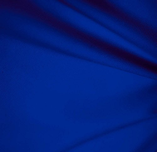 Solid Royal Blue Polyester Fabric 60