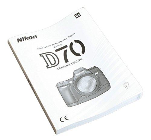 Camera Owners Manual - NIKON D70 DIGITAL CAMERA OWNERS MANUAL IN SPANISH