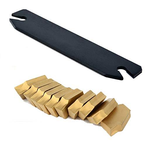 SPB26-3 Part Off Blade Grooving Cut-Off Tool With 10PCS GTN-3 SP300 Insert 26mm
