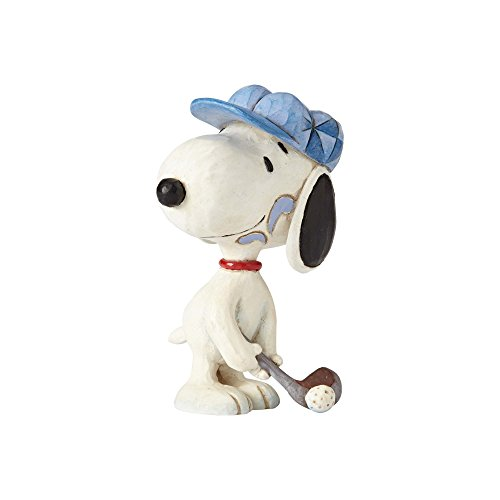 Enesco Peanuts by Jim Shore Snoopy Golfer Mini for sale  Delivered anywhere in USA