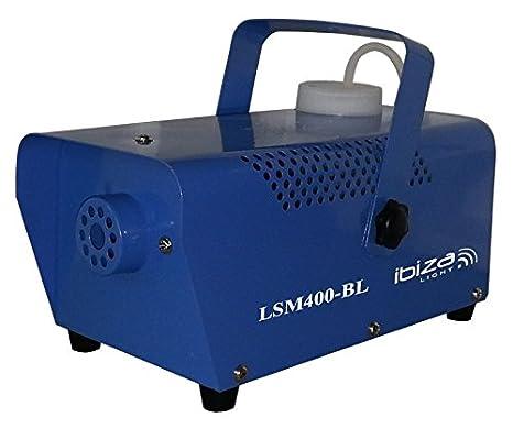 Ibiza LSM400LED-BK - Mini maquina de humo, negro: Amazon.es: Instrumentos musicales