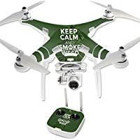 Skin For DJI Phantom 3 Professional – Smoke Weed | MightySkins Protective, Durable, and Unique Vinyl Decal wrap cover | Easy To Apply, Remove, and Change Styles | Made in the USA