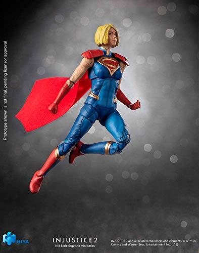41Ursad3eSL Hiya Toys Injustice 2: Supergirl 1: 18 Scale Action Figure, Multicolor