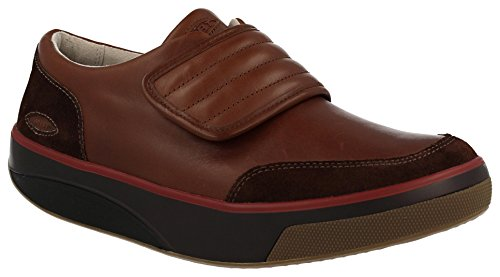 MBT Men's Dahoma Cappuccino Leather/Suede 40 Medium -  700111-757