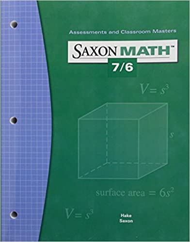 Amazon saxon math 76 assessments classroom masters saxon math 76 assessments classroom masters 1st edition fandeluxe Gallery