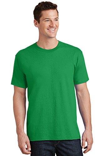 - Port & Company Men's 54 oz 100% Cotton T Shirt XL Clover Green