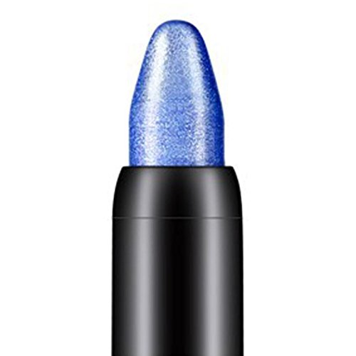 LiPing Eye Shadow Pencil Beauty Highlighter Makeup Professional Shimmer Glitter Eye Shadow Powder Palette Matte Eyeshadow Cosmetic Makeup (Deep Blue)