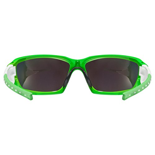 Uvex Sportstyle 219 Lunettes de soleil Vert/Blanc IAsedt
