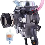 labwork Carburetor Carb Replacement for Kawasaki Mojave 250 KSF250 1988-2003 with Intake Manifold