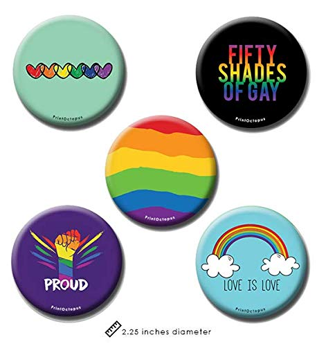 Gay Pride Pin I Love Boys