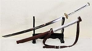Walking Dead Katana-Michonne's Sword Zombie Killer-Shihozumi Clay Tempered--Ryan847