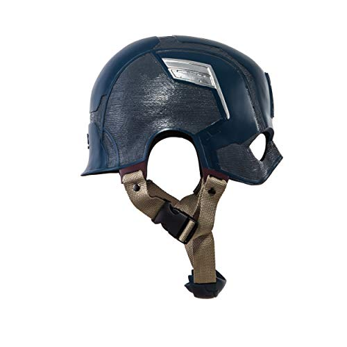 Traveller Captain America 3 Civil War Helmet Movie Cosplay Props for Adult, Navy Blue, one size by Traveller (Image #2)