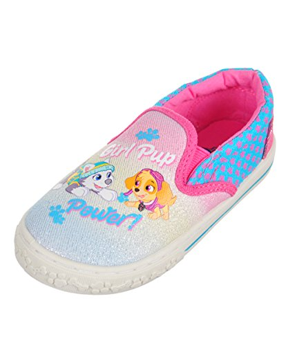 Josmo Kids Baby Girl's Paw Patrol Canvas Sneaker (Toddler/Little Kid) Multi Shoe (Treads Rubber Pup)