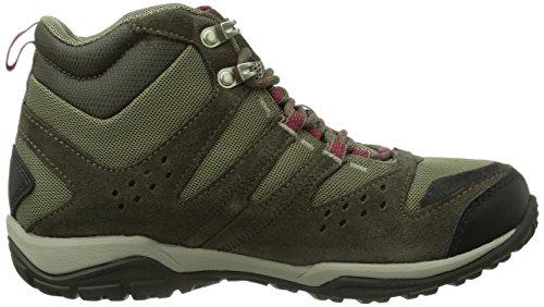 Columbia Peakfreak Outdry - Zapatillas de trekking Mujer Marrón (Pebble / Red Orchid)