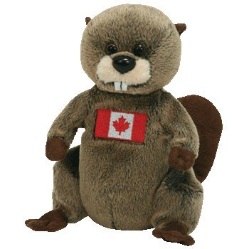 Amazon.com  TY Beanie Baby - TIMBERS the Beaver (Canada Exclusive ... ddeee701f29