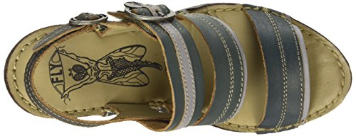 FLY London SALM631FLY - Sandalias Mujer Multicolor (DIESEL/ICE/ANTHRACITE 004)