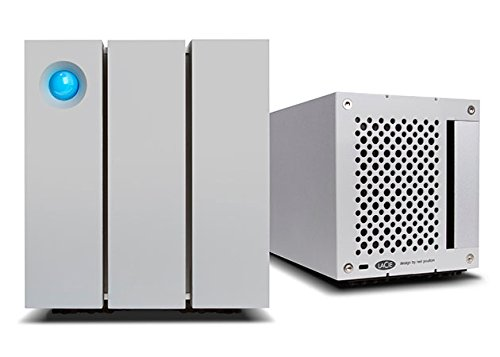 LaCie STEY12000400 2Big RAID Thunderbolt 2 12TB 7200RPM External Hard Drive