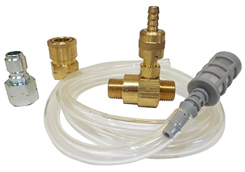 Ultimate Washer UW16-PW70B3 Adjustable Soap and Chemical Injector Pressure Washer, 3/8-Inch