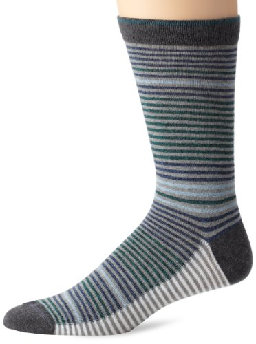 - Diesel Men's Ray Fresh And Bright Pin Stripe Socks, Green, Sock Size:10-13/Shoe Size: 6-12