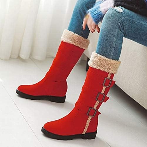[Mifazhu] 人気 ファッション長靴 女性冬暖かいニーブーツ厚く暖かいハイブーツ大型学生靴ブーツブーツ ファッションフラットブーツ 柔らかい 滑り止め 防寒 フェミニン 美脚効果最高 脚長 足細 通学 通勤