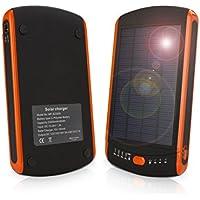 Casewarehouse 23000mAh Multi-Voltage (5V, 12V, 16V, 19V) Universal Solar Power Bank with LED Light