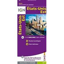IGN /85103 ÉTATS-UNIS EST - EAST UNITED STATES