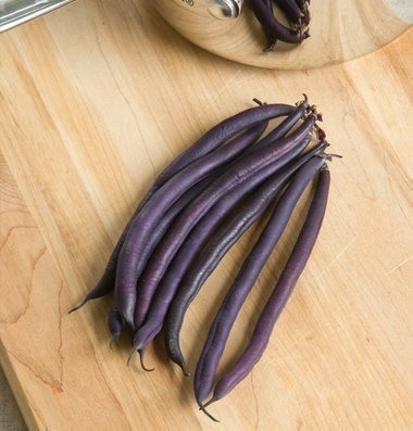 David's Garden Seeds Bean Bush Amethyst  - Blue Lake 274 Bean Snap Shopping Results
