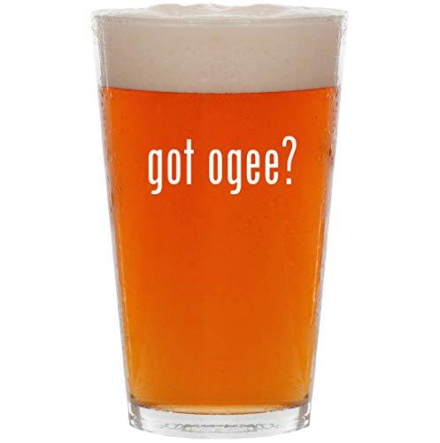 - got ogee? - 16oz Pint Beer Glass