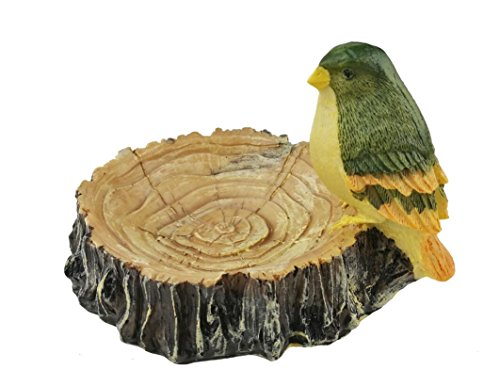 Winterworm Handmade Cute Little Bird and Stump Resin Ashtray Cigar Cigarette Little Things Storage For Home Decoration Birthday Christmas Housewarming - Cigars Little Light