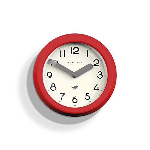 Newgate Pantry Clock, Fire Engine Red