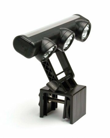 Adjustable 3-Head LED Grill Light by The Companion Group