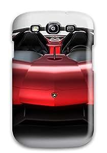 New Style Tpu S3 Protective Case Cover Galaxy Case Lamborghini Aventador J 40