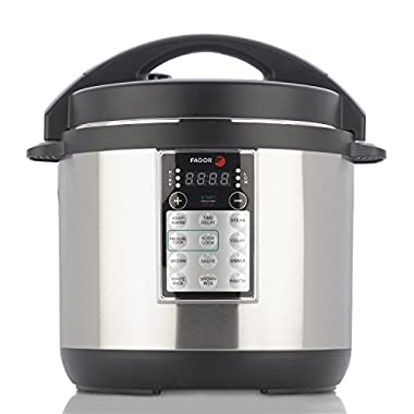 Fagor 670041880 LUX Multi Cooker, 6 quart, Silver